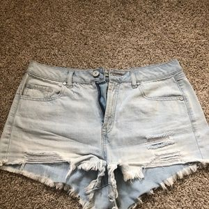 Refuge Women's Shorts Size 10 Distressed